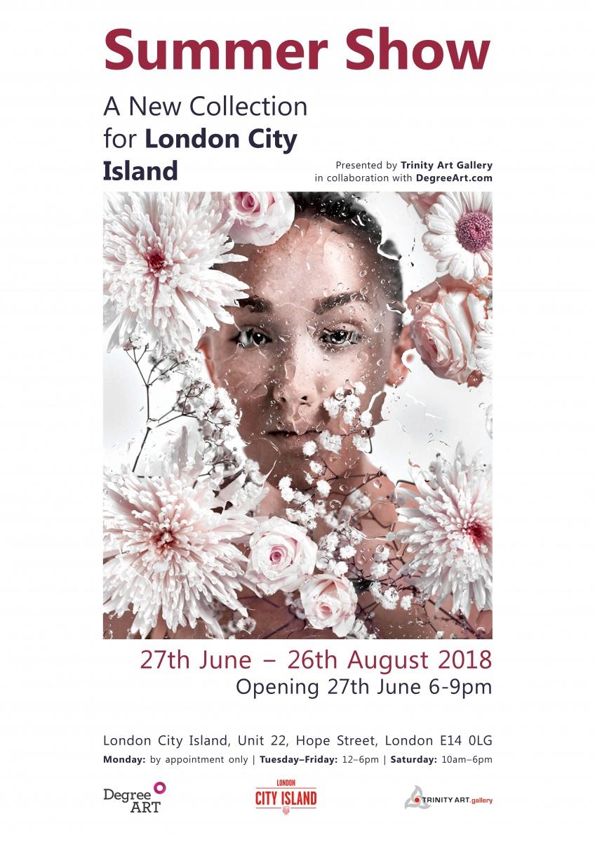 London City Island | DegreeArt com The Original Online Art Gallery